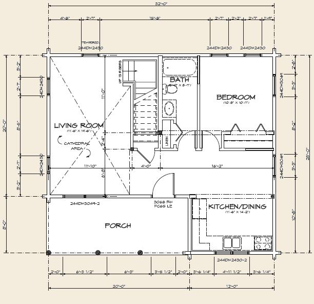 The cavendish log home floor plans nh custom log homes for Real log homes floor plans
