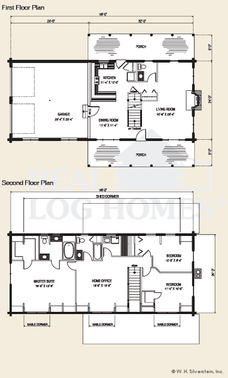 exceptional gambrel house floor plans #6: The Livermore