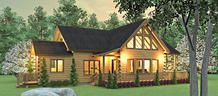 7 Bedroom Log Cabin Floor Plans