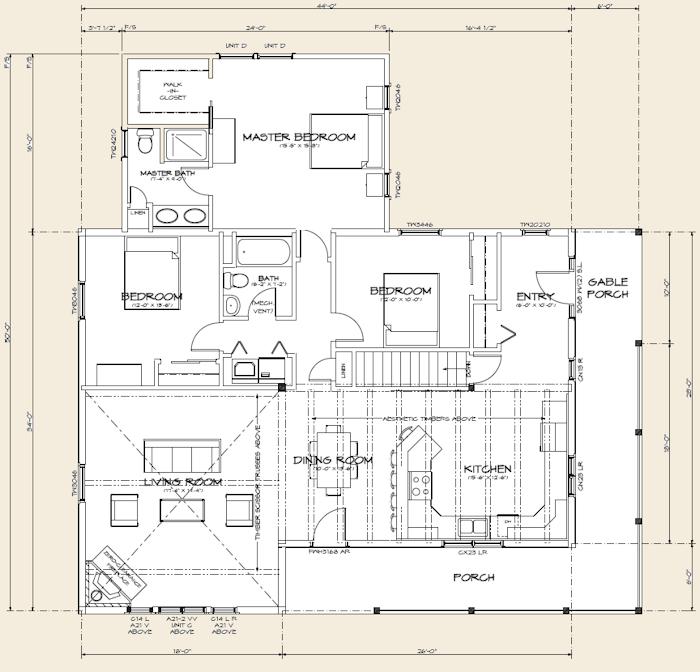 The montpelier log home floor plans nh custom log homes for Real log homes floor plans