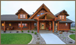 4 Bedroom Log Cabin House Plans