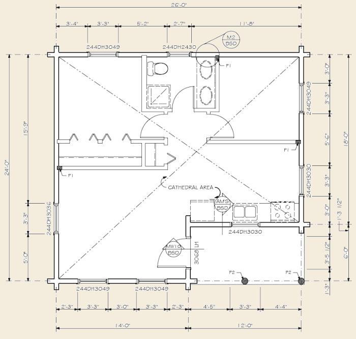 The voyager log home floor plans nh custom log homes for Real log homes floor plans