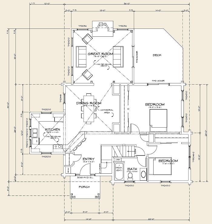 The cambridge log home floor plans nh custom log homes for Real log homes floor plans