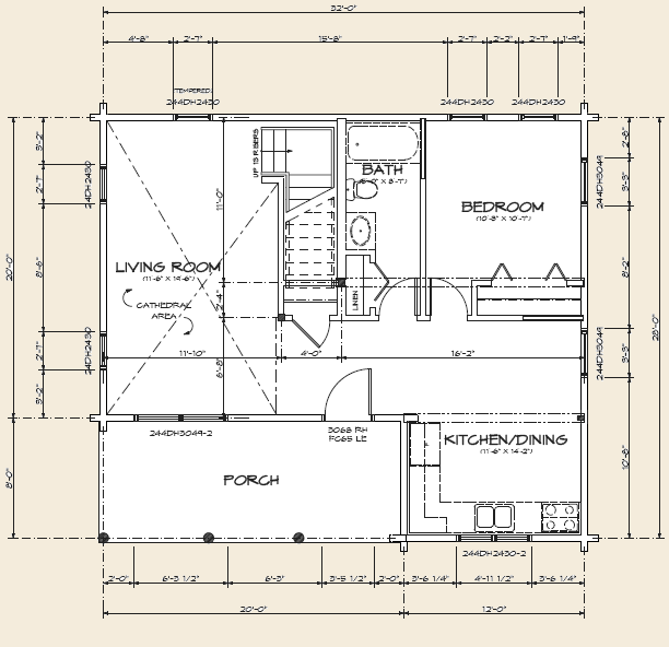 Stick Built Homes Floor Plans: The Cavendish, Log Home Floor Plans NH, Custom Log Homes