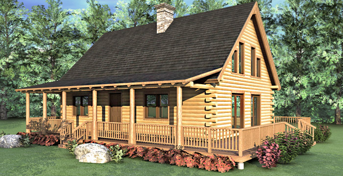 The sonora log home floor plans nh custom log homes for Chalet style homes for sale