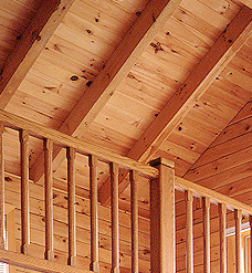 Square Timber Rafter