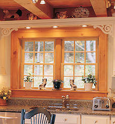 Andersen Grilles for Log Home Windows