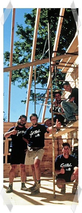 Real Log IR Building Crew